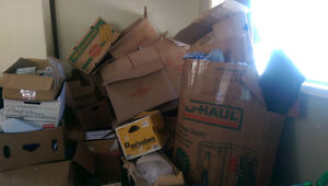 Free moving boxes pick up only