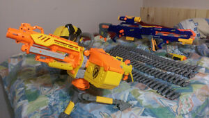 Nerf Guns, Ammo, Disk Shot, and Laser For Sale