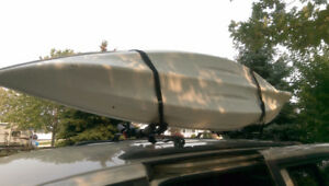 Kayak Car Carrier Rack - fits 2 kayaks