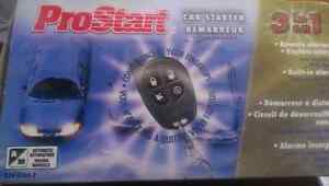 ProStart remote control car starter 3 in 1