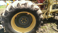 fordson major rear rims and tires