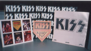 TRIPLE ALBUM DE COLLECTION GROUPE KISS NEAR MINT
