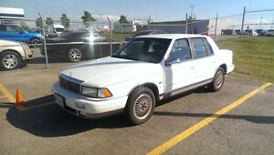 1992 Chrysler Lebaron LX Sedan - valid etest