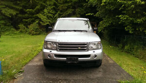 2007 Land Rover Range Rover Sport HSE SUV, Crossover