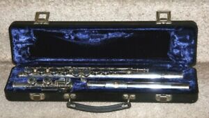 Flute For Sale, Armstrong Silver Plated Complete With Case.