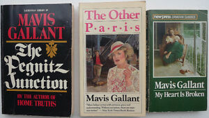 3 Mavis Gallant short story collections Oakville / Halton Region Toronto (GTA) image 1