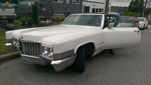 1970 Cadillac DeVille Chrome Coupe (2 door)