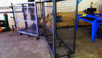 Tool Boxes, welded steel storage cages