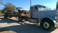 84 Freightliner UT Utility cab & chassis new engine single axle