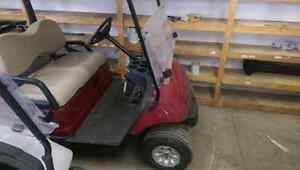 2007 Yamaha drive electric with new Trojan batteries.
