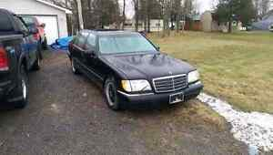 1999  Benz s-500  for trade!