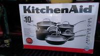 KitchenAid Anodized Clad Cookware Set