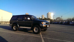 1995 Toyota 4Runner Sequoia SUV, Crossover