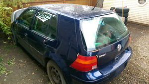 2002 VW GOLF(PARTING OUT) PRICE DROP! Regina Regina Area image 2