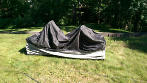 Deluxe Motorcycle cover.