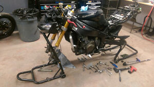Motorcycle Repair, Service, Powdercoating