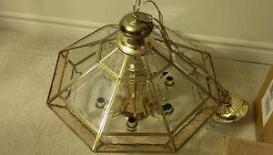 Beveled glass chandelier Sarnia Sarnia Area image 2
