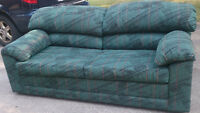 BARELY USED COUCH/FUTON, GREAT CONDITION