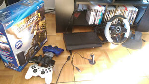 Playstation 3 console (250GB) 25 Games...