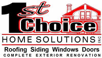 Experienced Siding, Soffit, Fascia (Trough) Installer