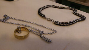 Lotr necklace and chainmaille