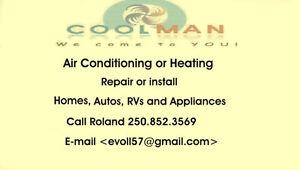 Coolman air conditioning repairs