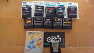 Colecovision Game Cartridges