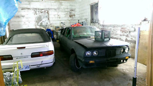 E30 coupe drift car **caged