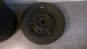 Mazda 3 Snow rims and tires 205/55/16.