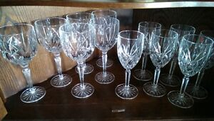 """Marquis"""" pattern Waterford Crystal Wine Goblets Sarnia Sarnia Area image 2"""
