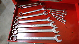 Gray Tools quality vintage wrench set (14 piece)