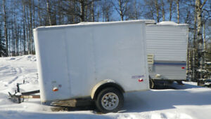Pace enclosed 8 x 5 trailer