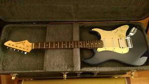 Navy Blue Electric Guitar