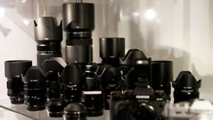 Highend/Quality Nikon and Canon Cameras or Lenses