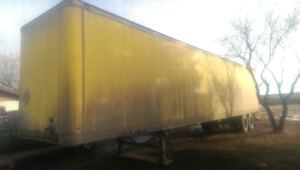 2002 48' Enclosed Semi Trailer open to offers