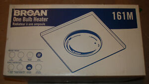 BROAN ONE BULB HEATER