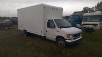 2006 Ford E-450 16ft Mechanic's Cube Van, C/W CVIP