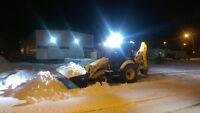 Airdrie parking lot snow removal
