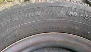 Goodyear Winter tires and spare all season tire Cambridge Kitchener Area image 2