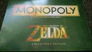 Legend of Zelda Monopoly Collectors Edition