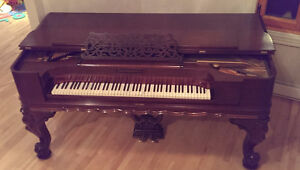 Piano-table (square grand piano) Stevenson - circa 1880