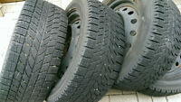4 winter tires 205/55R16 for sale