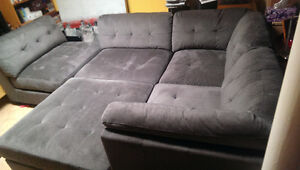 Emerald 7pc section couch