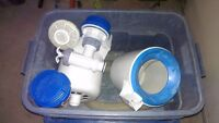 Intex pool parts, Skimmers, fittings, adapters and valves