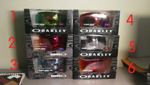 Brand new oakley goggles lunettes