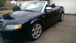 Audi Convertible 2004 S4 Only 84000 KM Beautiful car Must see!