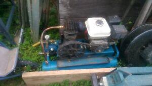 5 hp honda powered air compressor