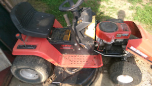Riding mower for parts best offer