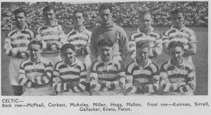 CELTIC FOOTBALL TEAM PHOTO 1947-48 SEASON