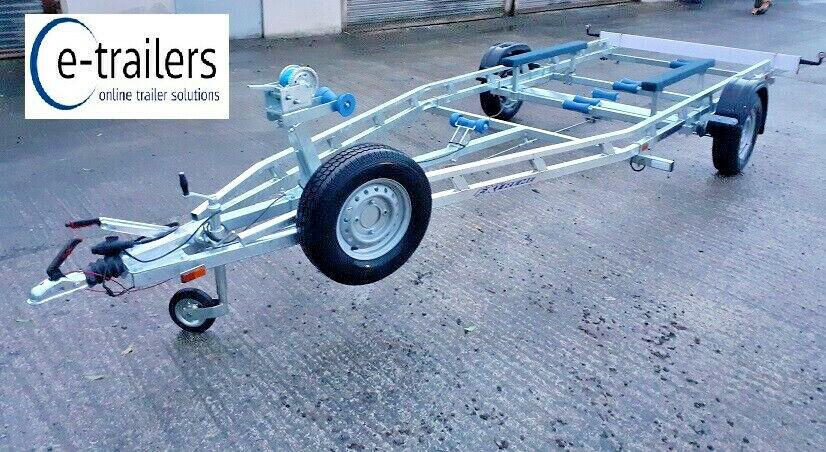 EXTREME 1500kg FIXED KEEL BUNK BOAT TRAILER - CRABBER SHRIMPER PLYMOUTH PILOT